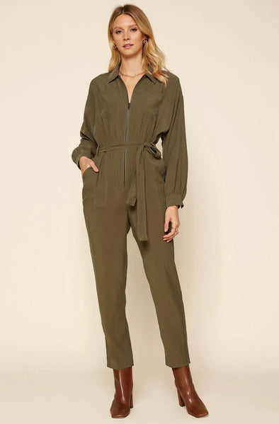 London Pocketed Utility Jumpsuit