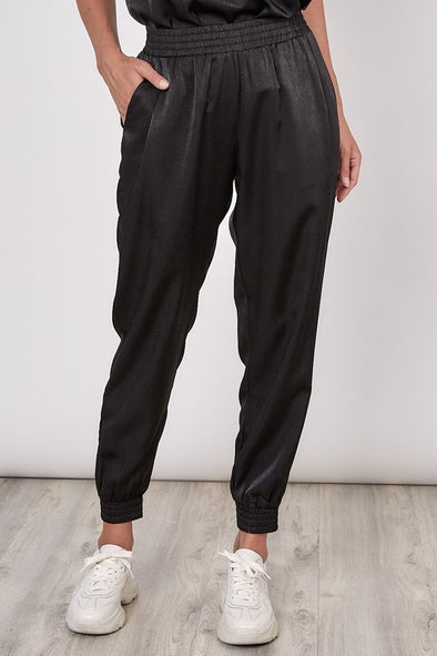 Midtown Satin Joggers