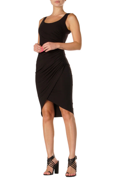 Ella Tank Dress with Ruched Sides