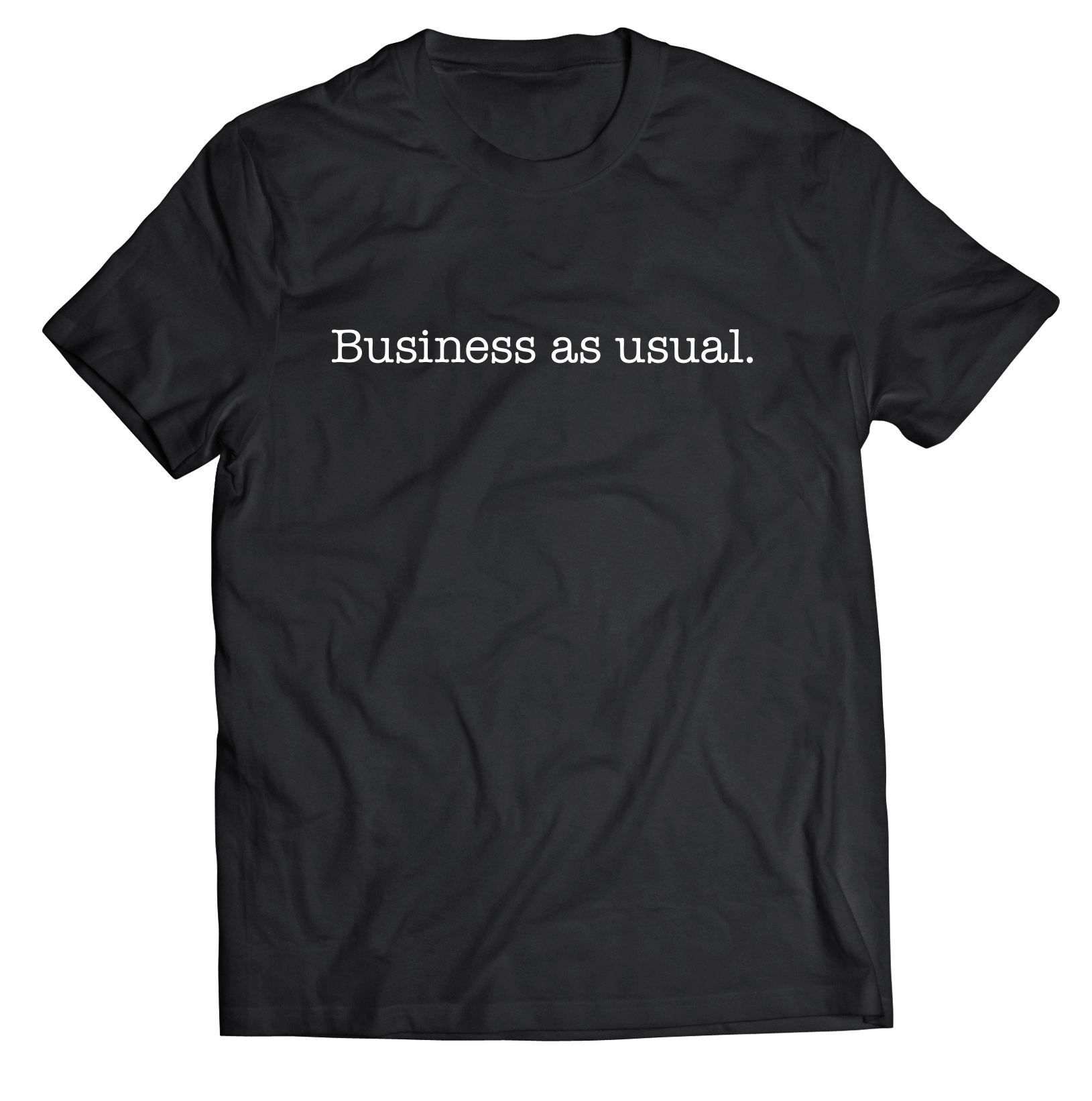 BUSINESS AS USUAL - 11 of Twelve