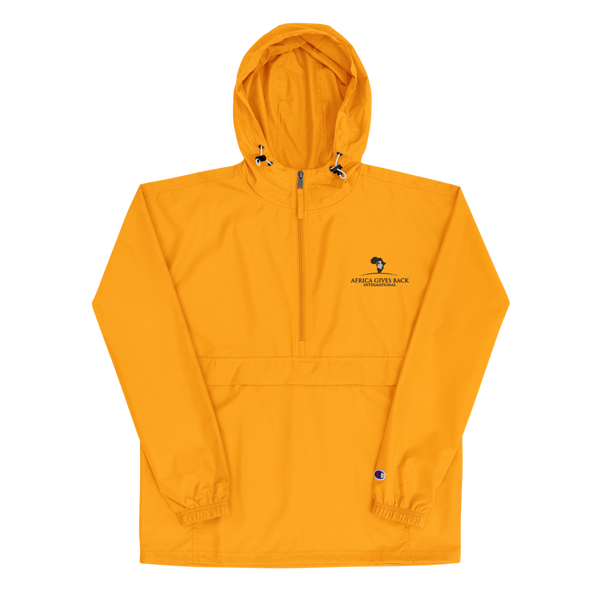 Champion Jacket - Yellow (Embroidered)