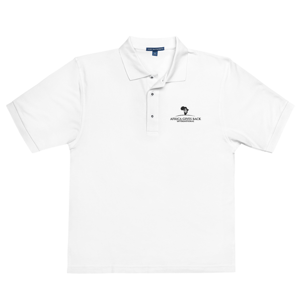 Polo - White (Embroidered)