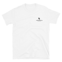 Short-Sleeve T-Shirt - White (Embroidered)