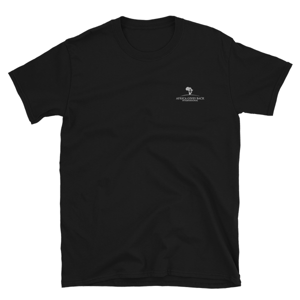 Short-Sleeve T-Shirt - Black/Navy (Embroidered)