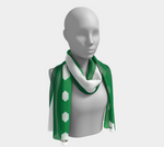 Elgar Scarf (Green/White)