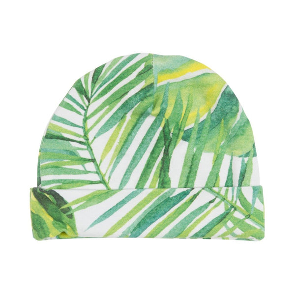 Tropical Leaf Beanie - FINAL SALE