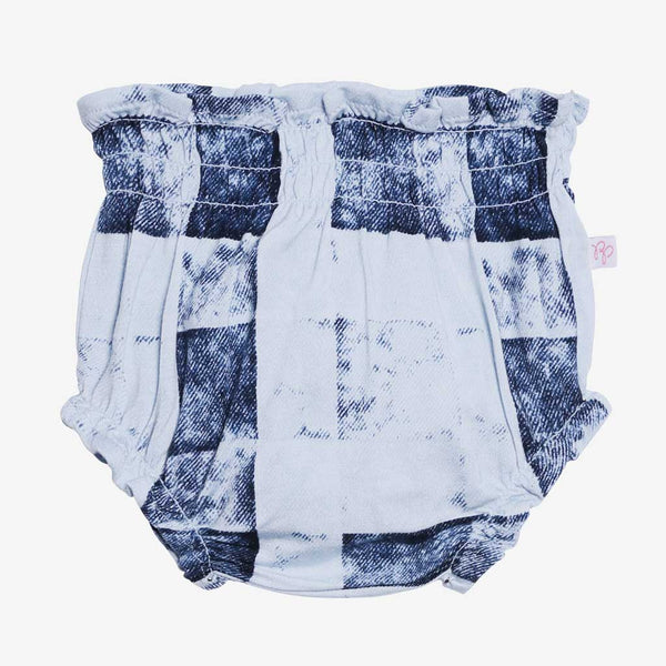 Denim Plaid Bloomer - FINAL SALE