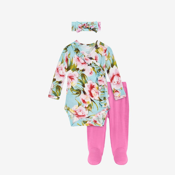 Carolina Floral Kimono Set - FINAL SALE
