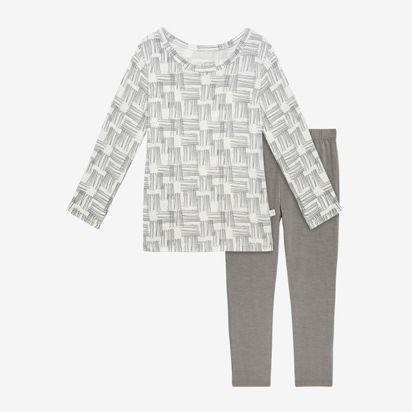 Rivers Gray Pajamas - FINAL SALE