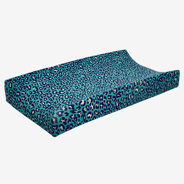 Lana Leopard Changing Pad Cover - FINAL SALE