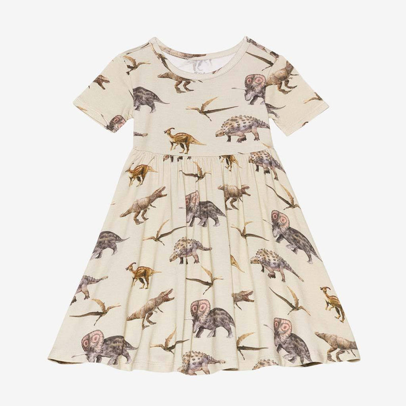 Vintage Dino Twirl Dress
