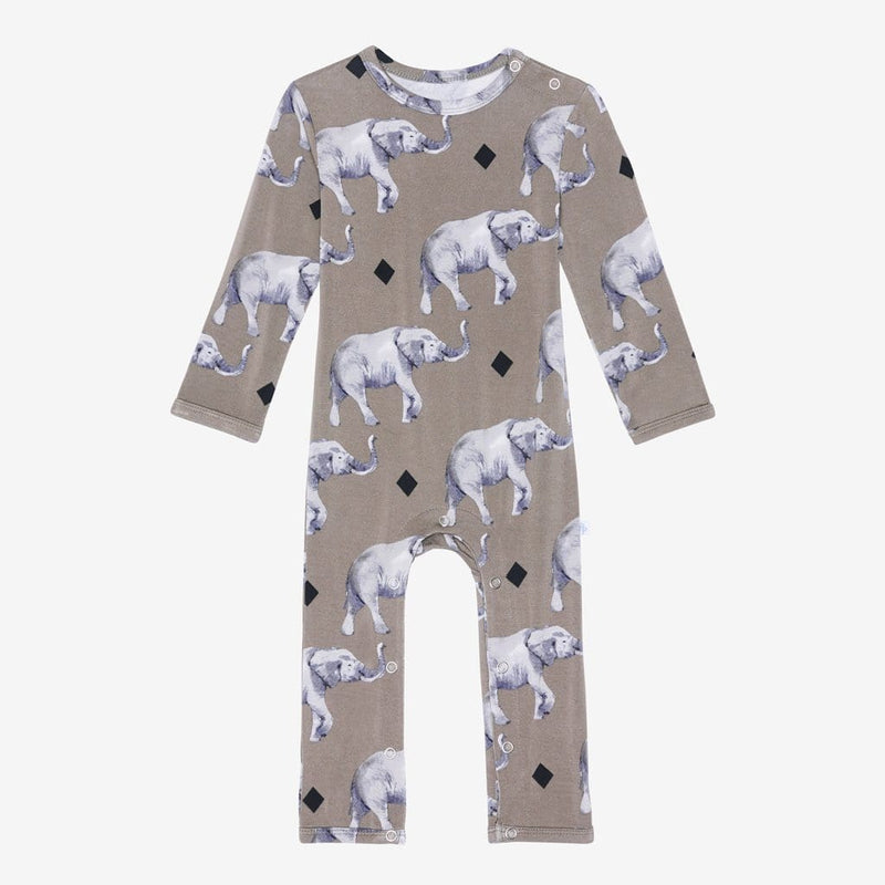 Rocco Elephant Romper - FINAL SALE