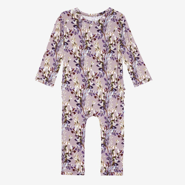 Trinity Floral Ruffled Romper - FINAL SALE