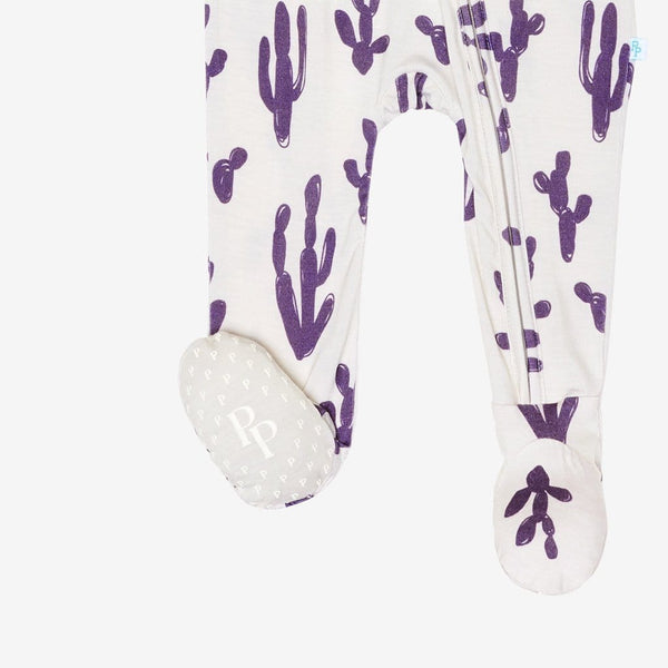 Jackson Cacti Footie Zippered One Piece FINAL SALE
