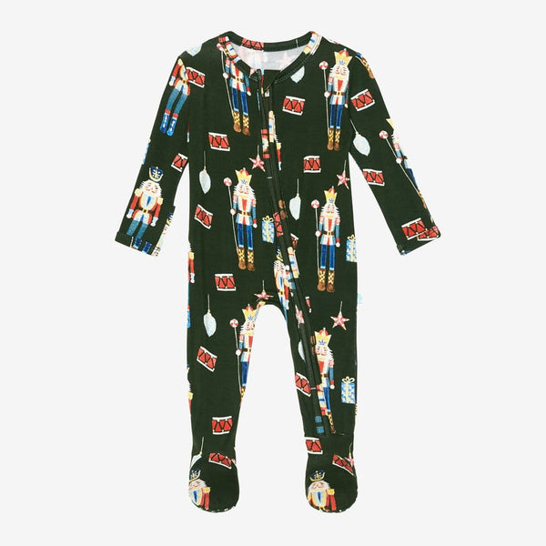 Thomas Toy Soldier Footie Zippered One Piece