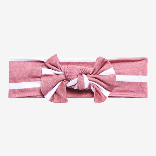 Blush Rose Stripe Headwrap