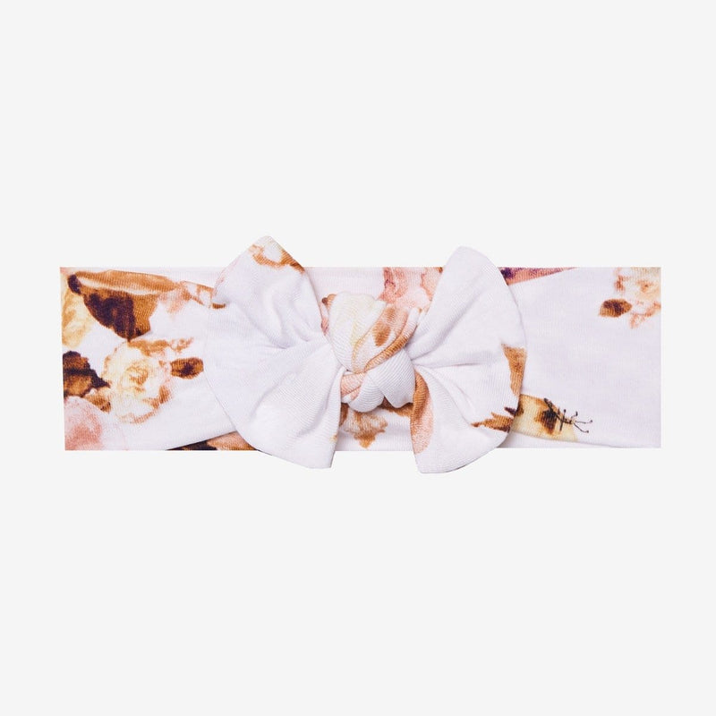 Reese Floral Swaddle Headband Set