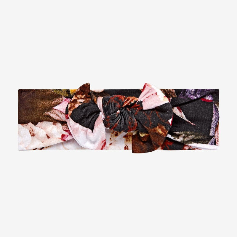 Zoey Floral Swaddle Headband Set