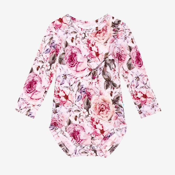 Elise Floral Long Sleeve Bodysuit