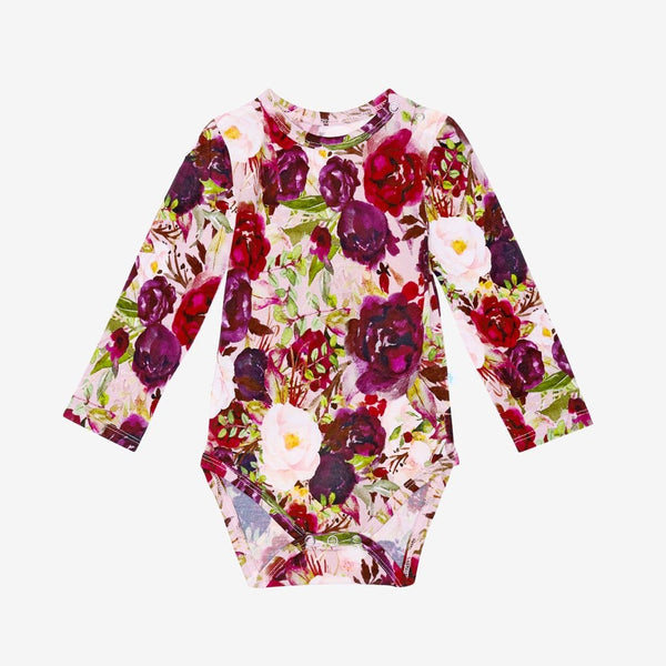Gracie Floral Long Sleeve Bodysuit