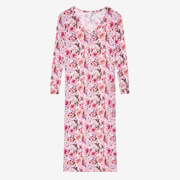 Elise Floral Long Sleeve Maxi Dress