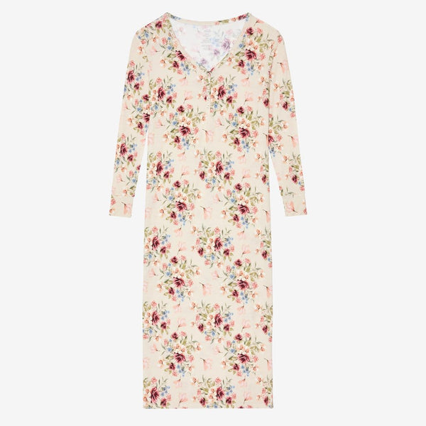 Gia Floral Long Sleeve Maxi Dress