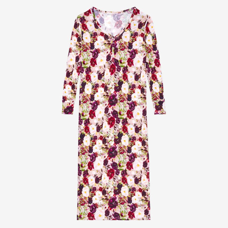 Gracie Floral Long Sleeve Maxi Dress