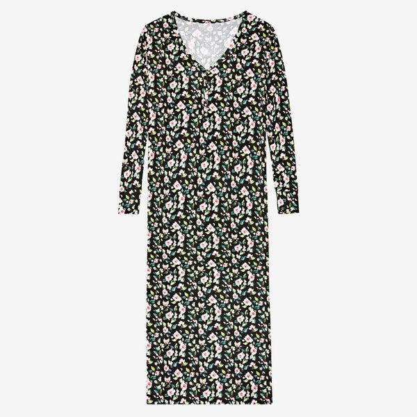 Lina Floral Long Sleeve Maxi Dress