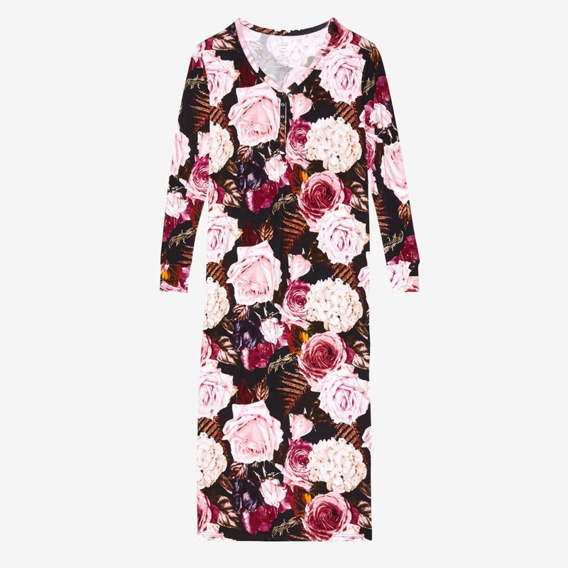 Zoey Floral Long Sleeve Maxi Dress
