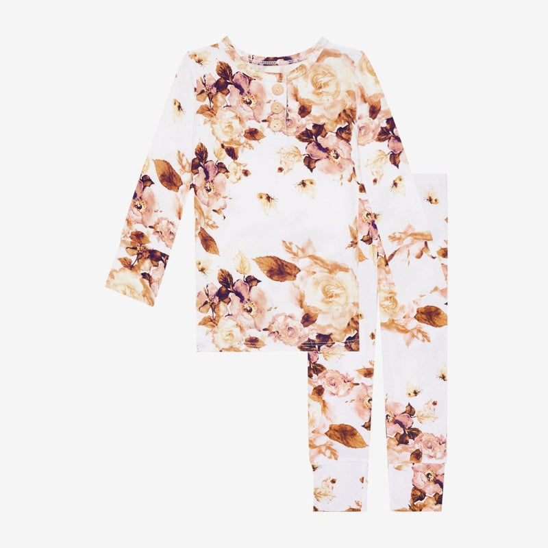 Reese Floral Henley Pajamas