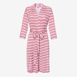 Blush Rose Stripe Robe