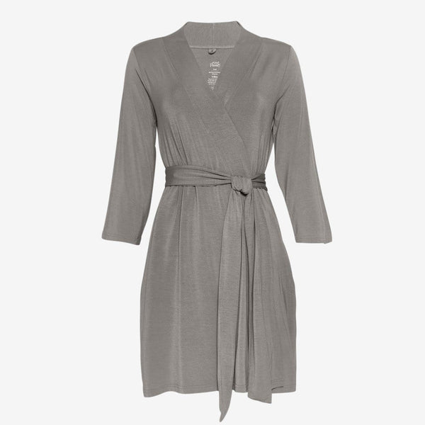 Stone Gray Robe - FINAL SALE