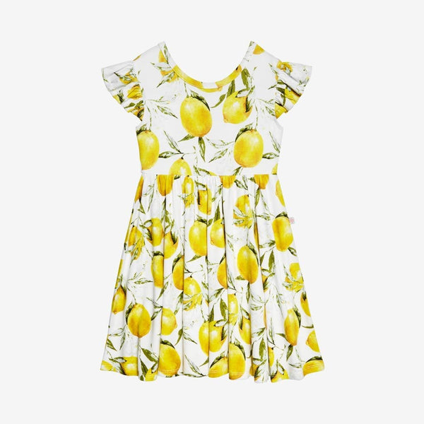 Lemon Twirl Dress - FINAL SALE