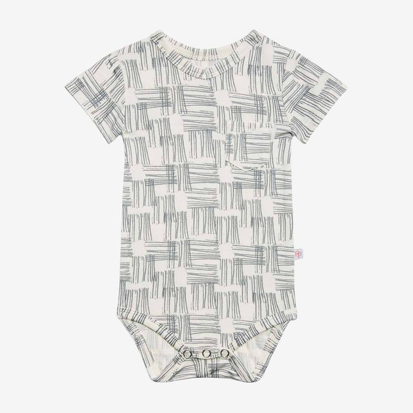 Rivers Gray V-Neck Bodysuit  - FINAL SALE