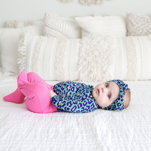 558602117884 Cute Lana Leopard Girl Outfit | Going Home Kimono Outfit