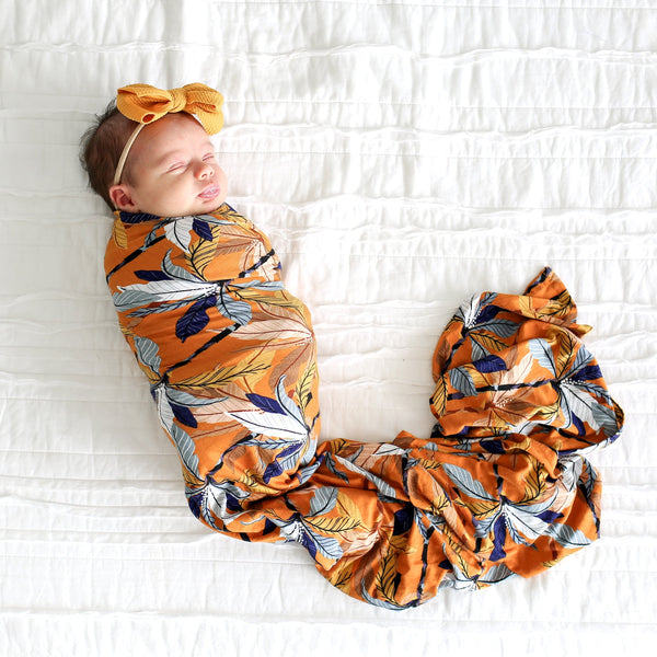 Summer Tropics Swaddle Headband Set - FINAL SALE