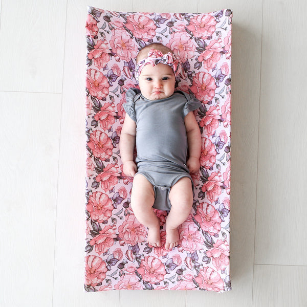 Vivi Floral Changing Pad Cover - FINAL SALE