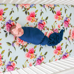 Posh-Peanut-Viscose-Bamboo-Stay-dry-fabric-reliably-chic-and-perfectly-practical-uniquely-designed-of-a-kind country rose crib sheet