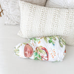 Cactus & Wooden Wheel Swaddle Set