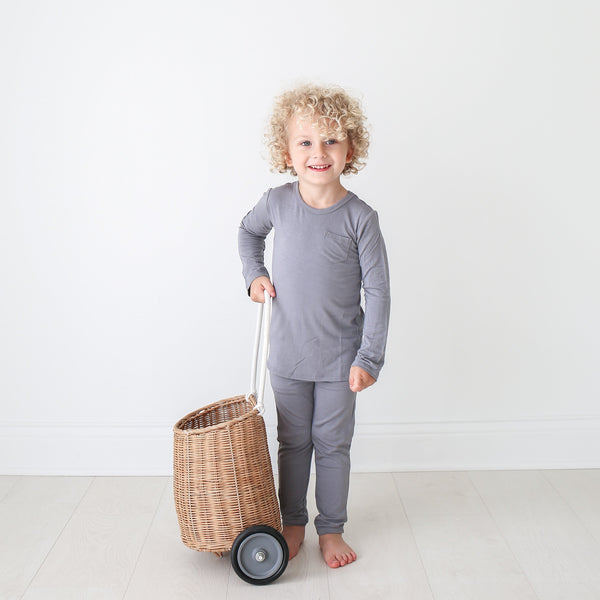 Stone Gray Pajamas - FINAL SALE