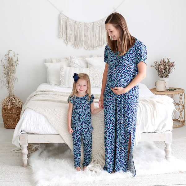 Lana Leopard Mommy Maxi Dress - FINAL SALE