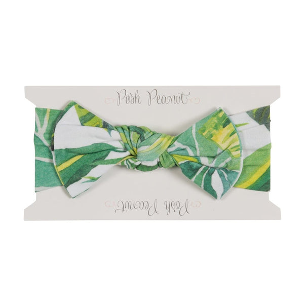 Tropical Leaf Headwrap - FINAL SALE