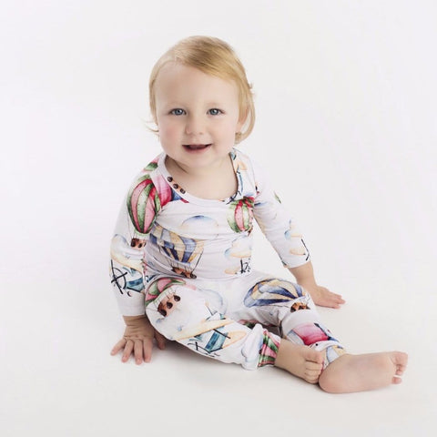 boy toddler pajamas onesie