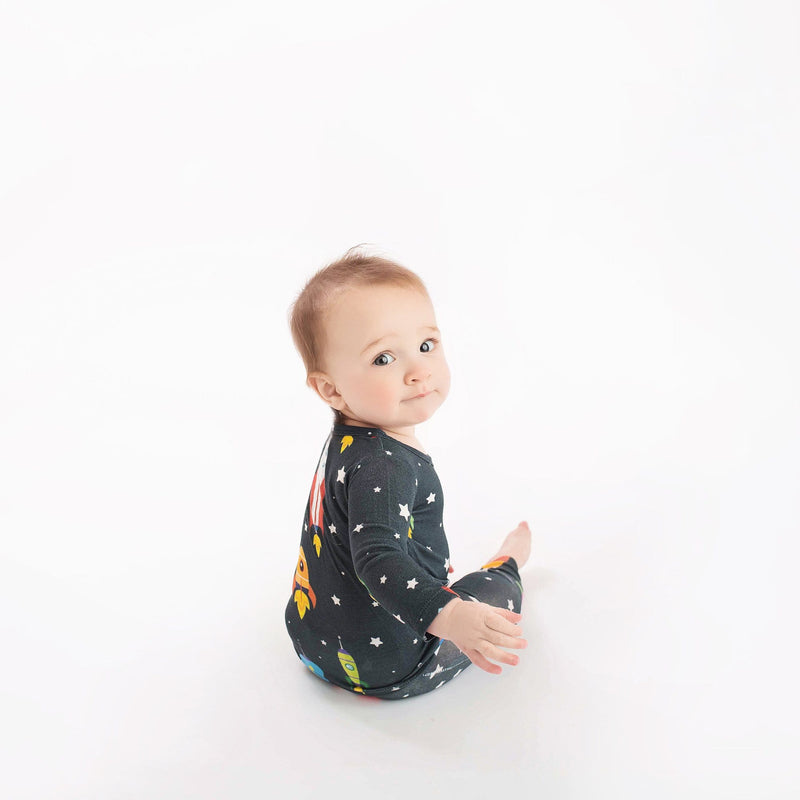 Rocket Ship Pajamas - FINAL SALE