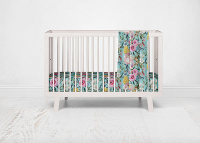 Tuscan Teal Crib Sheet