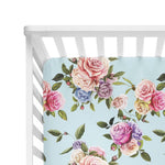 Country Rose Crib Sheet