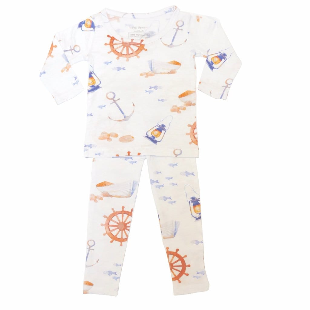 boat pajamas for baby boys