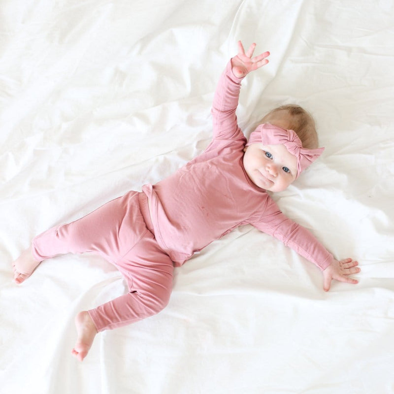 Dusty Rose Pajamas