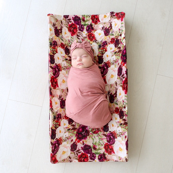 Gracie Floral Pad Cover