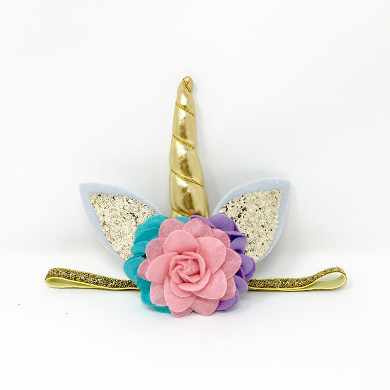 Unicorn Headband Rainbow FINAL SALE